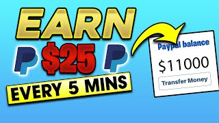 Earn $25 Every 5 Mins Into Your PayPal! (Make PayPal Free Money For Beginners 2021) screenshot 3