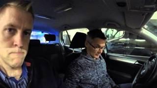Turun poliisi mopovalvontaa
