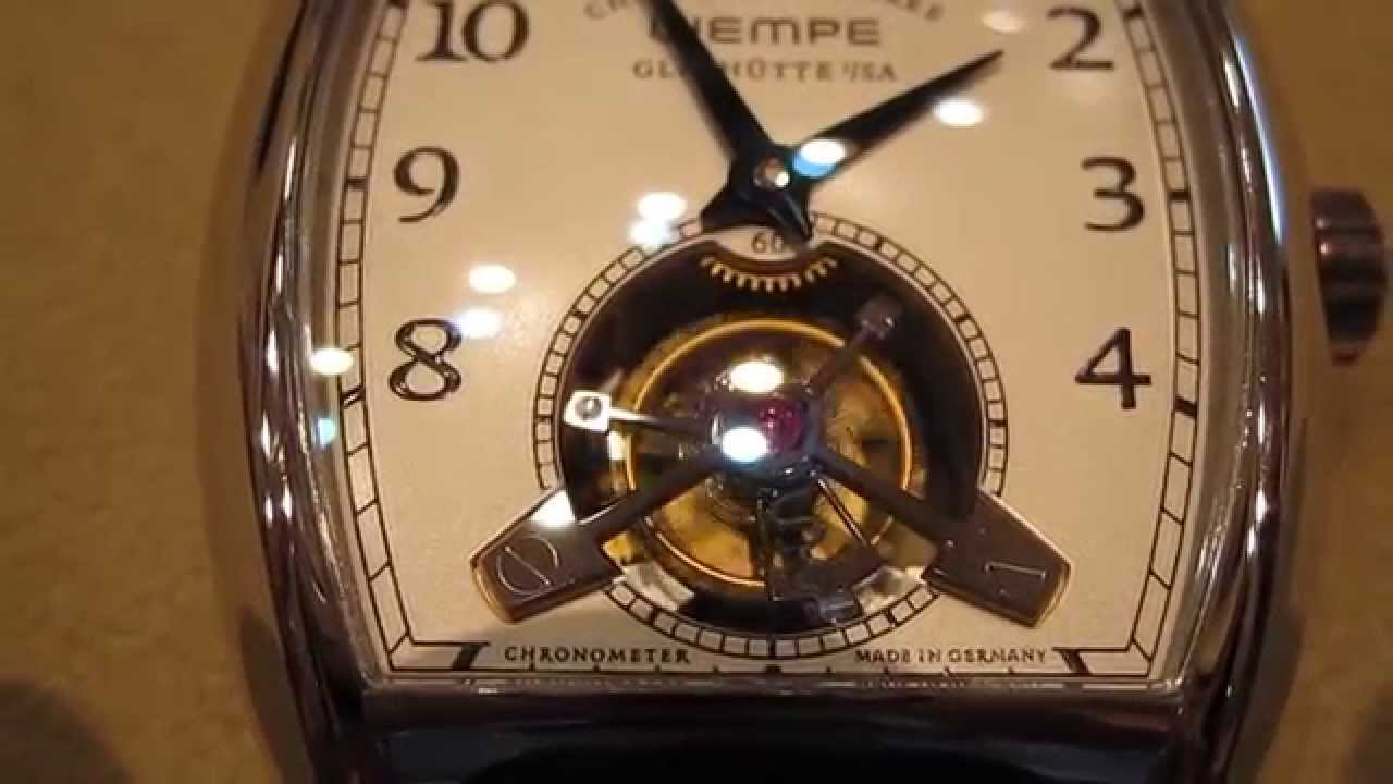 Wempe Chronometerwerke Tourbillon by NOMOS Glashütte