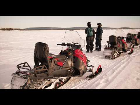 4K - The Swedish Lapland & Kiruna in Ultra HD UHD Camp Alta