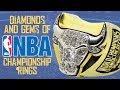 The Diamonds & Gems of  NBA Championship Rings