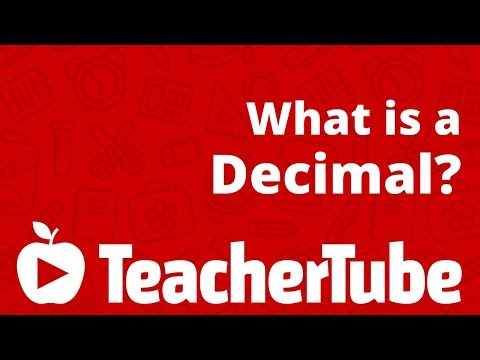What is a Decimal? - YouTube