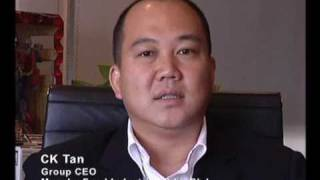 EO TAIPAN Interviews - CK TAN - Group CEO Munchy Food Industries Sdn Bhd