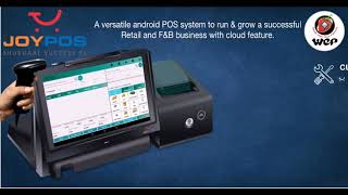 Joypos with cloud application a versatile android pos system to run and grow successful retail f&b business feature\ for enquiries: mob: 984...