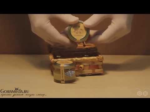 Подарочный набор с мёдом № 17