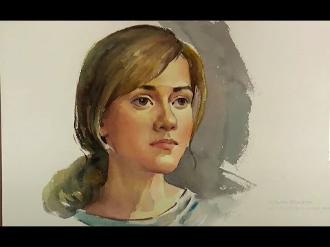 watercolor-painting-portrait-of-beautiful-girl