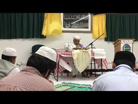 Sermon by Peer wo Murshid on Bahra e Aam Hz Shah e Naimat Rz