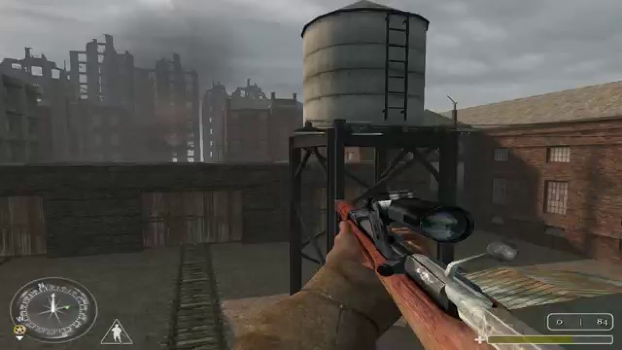 """Call of Duty 1 Gameplay Walkthrough - 14 """"Red Square, Stalingrad ..."""