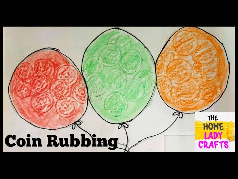how to do coin rubbing - YouTube