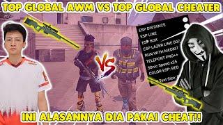 Download lagu DI TANTANG BY 1 SAMA TOP GLOBAL CHEATER !! BERANI BANGET NI BOCIL..