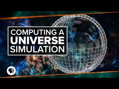 Computing a Universe Simulation | Space Time