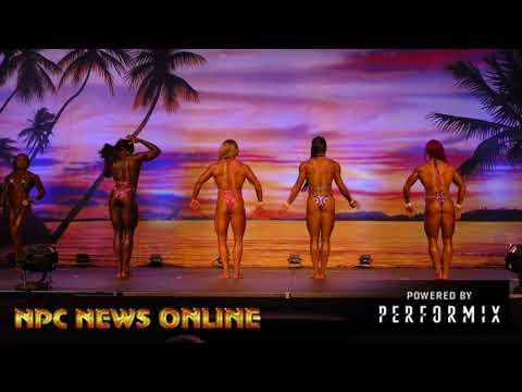2018 IFBB Europa Orlando Prejudging: Women's Physique Prejudging