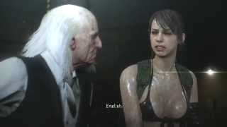 Metal Gear Solid 5 Phantom Pain - Quiet Torture Scene & Quiet Talks
