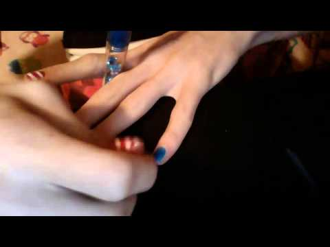 Nail art. 3 in 1 nail art pen - YouTube