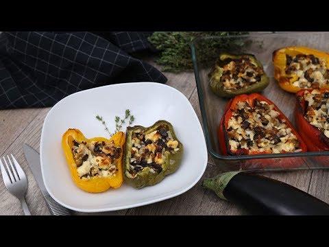 les-instants-recettes-n°47-:-poivrons-farcis-à-la-feta-et-à-l'aubergine
