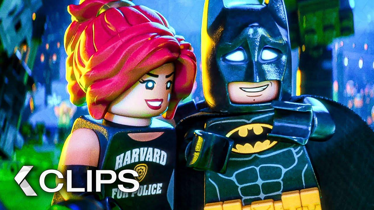 Download THE LEGO BATMAN MOVIE All Clips & Trailer (2017)