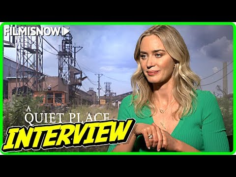 Emily Blunt Interview for A QUIET PLACE PART II
