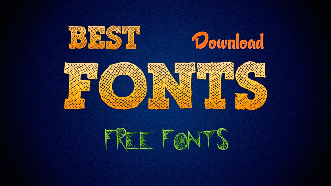 Download Best Free Fonts | Pack de Fuentes Gratis (Banners ...