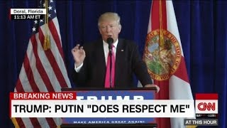 Repeat youtube video Donald Trump directly addresses Russia