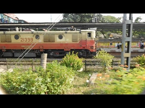 PARALLEL RACE : #21399 The LAST WAM-4 ever built with Allahabad - Mumbai LTT AC Duronto Express