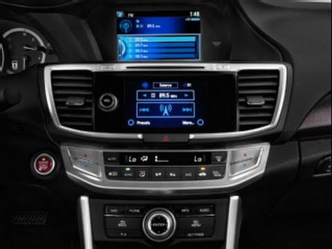 How to Remove a 2013 Honda Accord Radio - YouTube