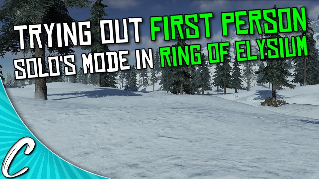 Trying First Person Perspective On ROE | Solo's FFP Ring of Elysium BR