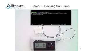 Demo: Hijacking the DANA Diabecare RS Insulin Pump
