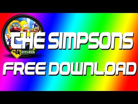 The Simpsons Hit and Run PC Free Download (FULL VERSION) With All Music!