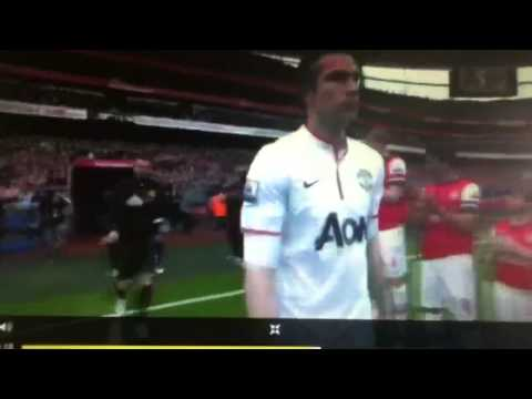 Manchester united singing selection