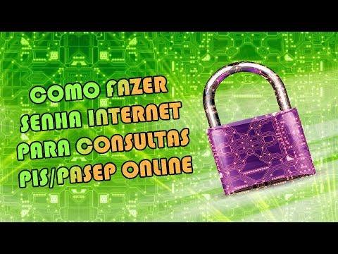 COMO FAZER SENHA INTERNET PARA CONSULTAS PIS PASEP ONLINE | Como Fazer Fácil