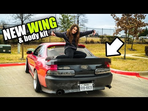NEW WING & BODY KIT for the SC300! - Making the SC300 clean