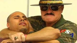 TITO SANTANA, JT SMITH and SGT. SLAUGHTER get COMPLETELY DAMAG…