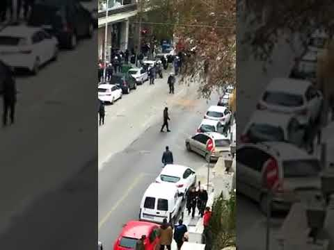 Fascist Attack against the School squat in Thessaloniki.