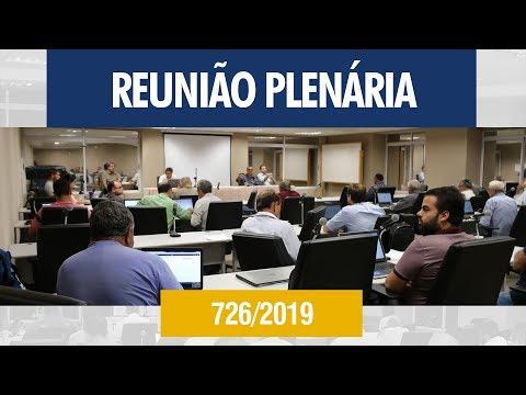 726ª Reunião Plenária - Crea-AL