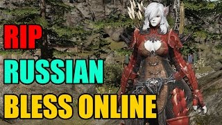 Bless Online Russian Version Shutting Down Indefinitely for Revisions