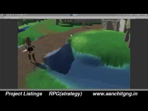 RPG(strategy) Unity 3D game development
