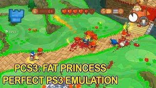 Fat Princess Gameplay [RPCS3 Emulator]