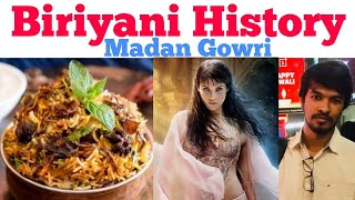 Biriyani History | Tamil | Madan Gowri | MG