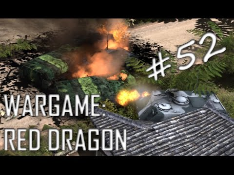 Scandinavian Sacrifice! Wargame: Red Dragon Gameplay #52 (Another D-Day in Paradise, 3v3)