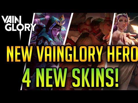 NEW HERO: SAN FENG (Full Abilities) + FOUR NEW SKIN SHOWCASES + Major 3v3 Changes| Vainglory