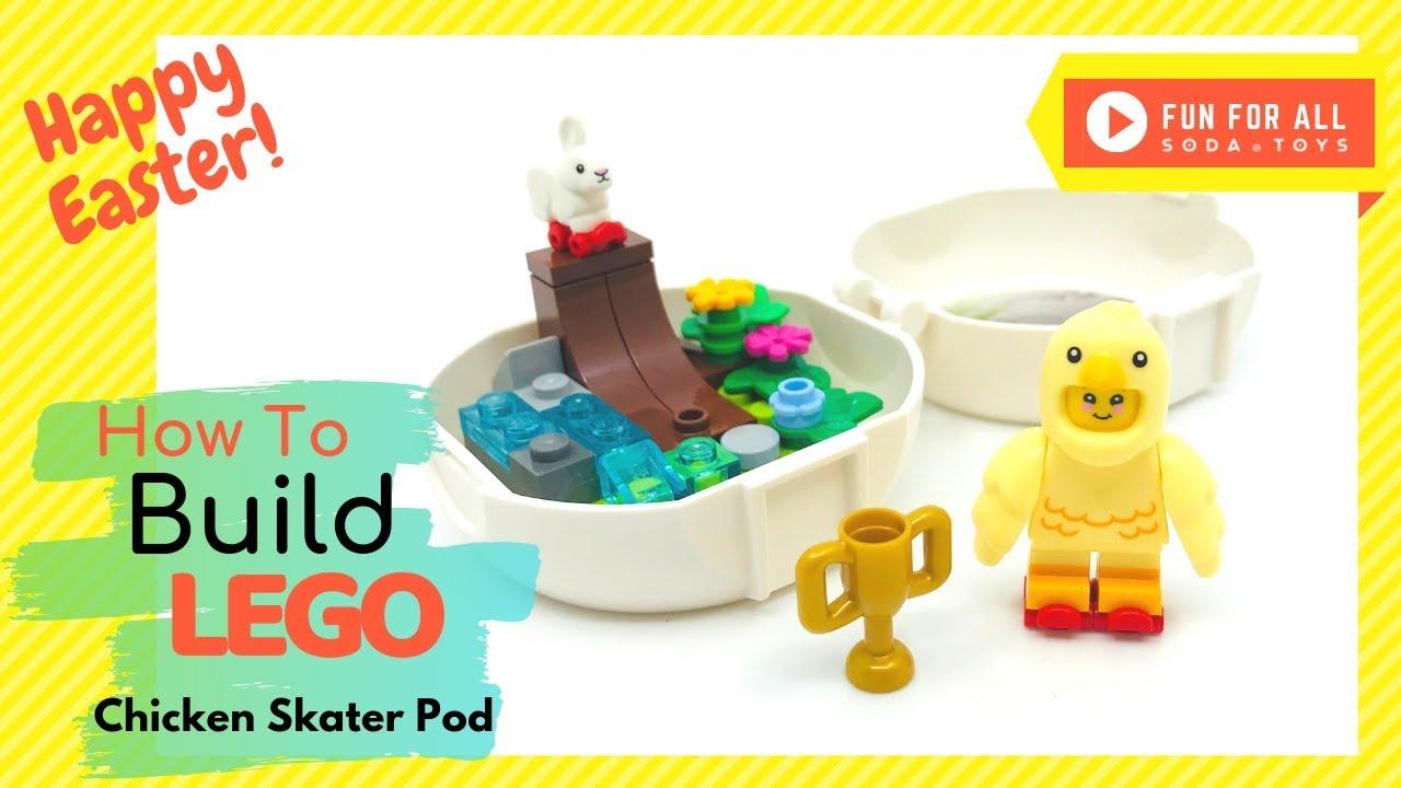 LEGO® 853958 NEW EASTER CHICKEN SKATER POD