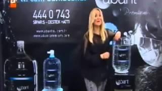 Abant Su Premium Cam Damacana Adana   Zahide Yetiş Reklamı