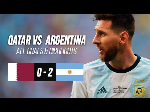 Qatar vs Argentina HIGHLIGHTS - Copa America Football 2019