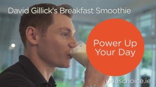 David Gillick's Breakfast Smoothie with Udos Oil to Power up your Day