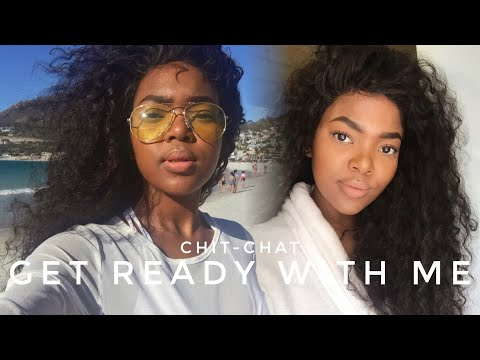 Chit-Chat GRWM ft. THE BEST CURLS EVER YirooHair | South African YouTuber