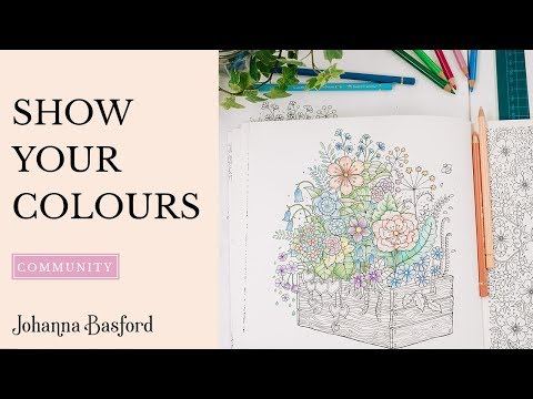 Show Your Colours - We are the Adult Colourists