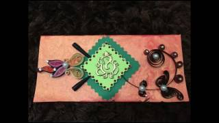 Paper Quilling Envelopes Designs