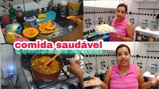 (VLOG )FIZ PURÊ DE ABÓBORA COM CARNE DE SOJA + MINHA ROTINA FITNESS