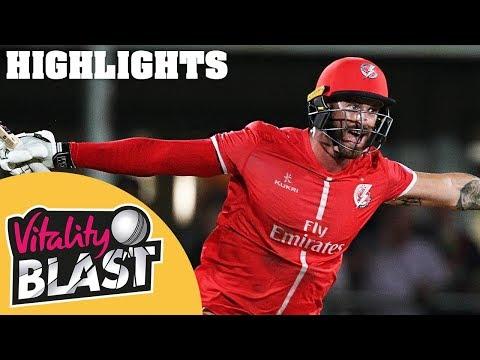 Jennings Stars In Nervy QF Clash | Kent v Lancashire | Vitality Blast 2018 - Highlights