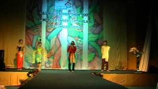 Thai Traditional Fashion Show in Collage of Cultures 2005